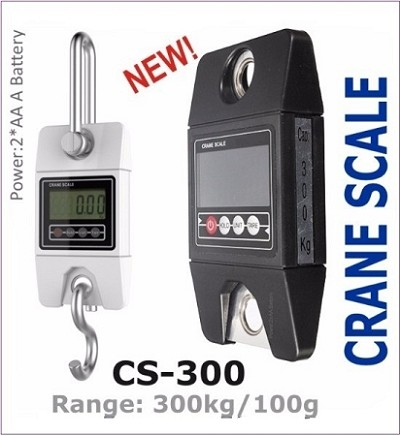 CS-300 (300KG 100G) Digital Weighing Crane Scale