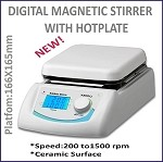 MXP-DMS Digital Magnetic Stirrer With Hotplate